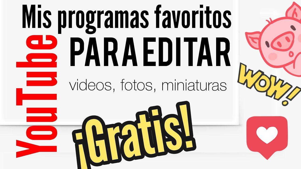 Programas De Edición Para Tu Canal De Youtube Gratis Descarga On Line Coffee Time Vlog Youtube Youtube Gratis Canal De Youtube Youtube