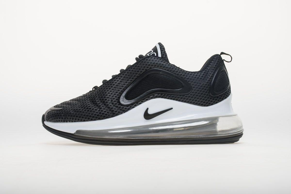 911661a4a41 Nike Air Max 720 AO2924-001 Black White Shoes1