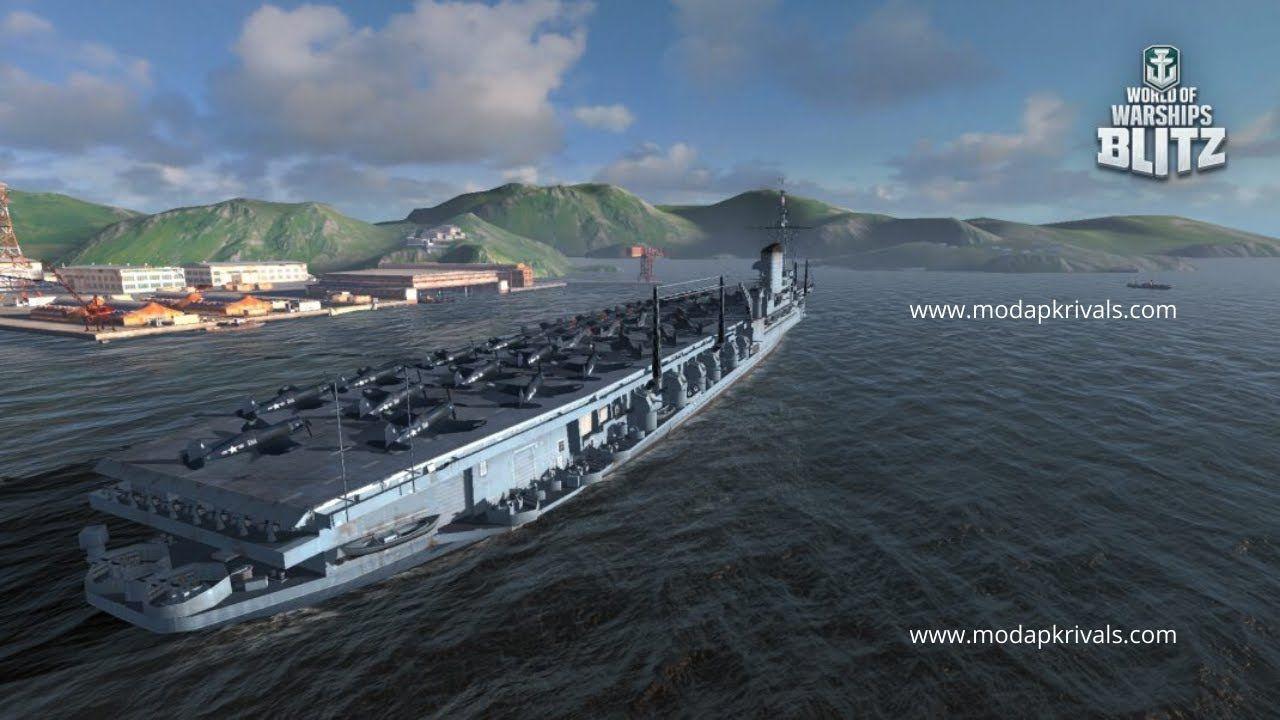 World Of Warships Blitz Mod Apk Free Download 2020 World Of Warships B In 2020 Warship Win Online Online Multiplayer Games