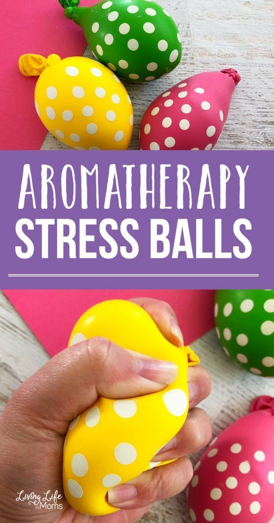 Aromatherapy Stress Balls Made With Essential Oils