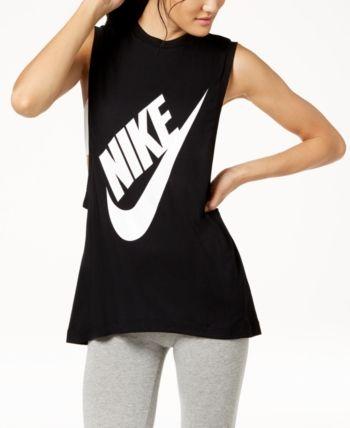 ee4923da78e Nike Sportswear Essential Tank Top - Black S | Products in 2019 ...