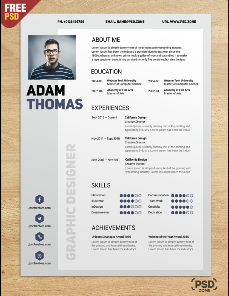 21 Of The Best Free Creative Resume Templates For 2019