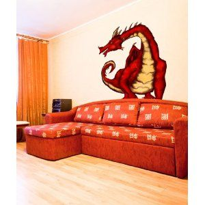 DRAGON DECAL WALL | ... Medieval Dragon Wall Stickers For Kids Rooms |  Dragon Part 87