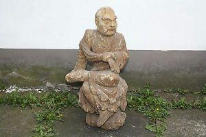 arhat lohan | grosse-chinesische-lohan-arhat-buddha-holz-skulptur ... - Designer Holzmobel Skulptur