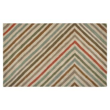 Check out this item at One Kings Lane! Edie Rug, Beige/Multi