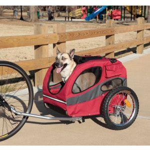 Houndabout Pet Bicycle Trailer Medium Petsmart Mascotas Perruno Bicicletas Raras