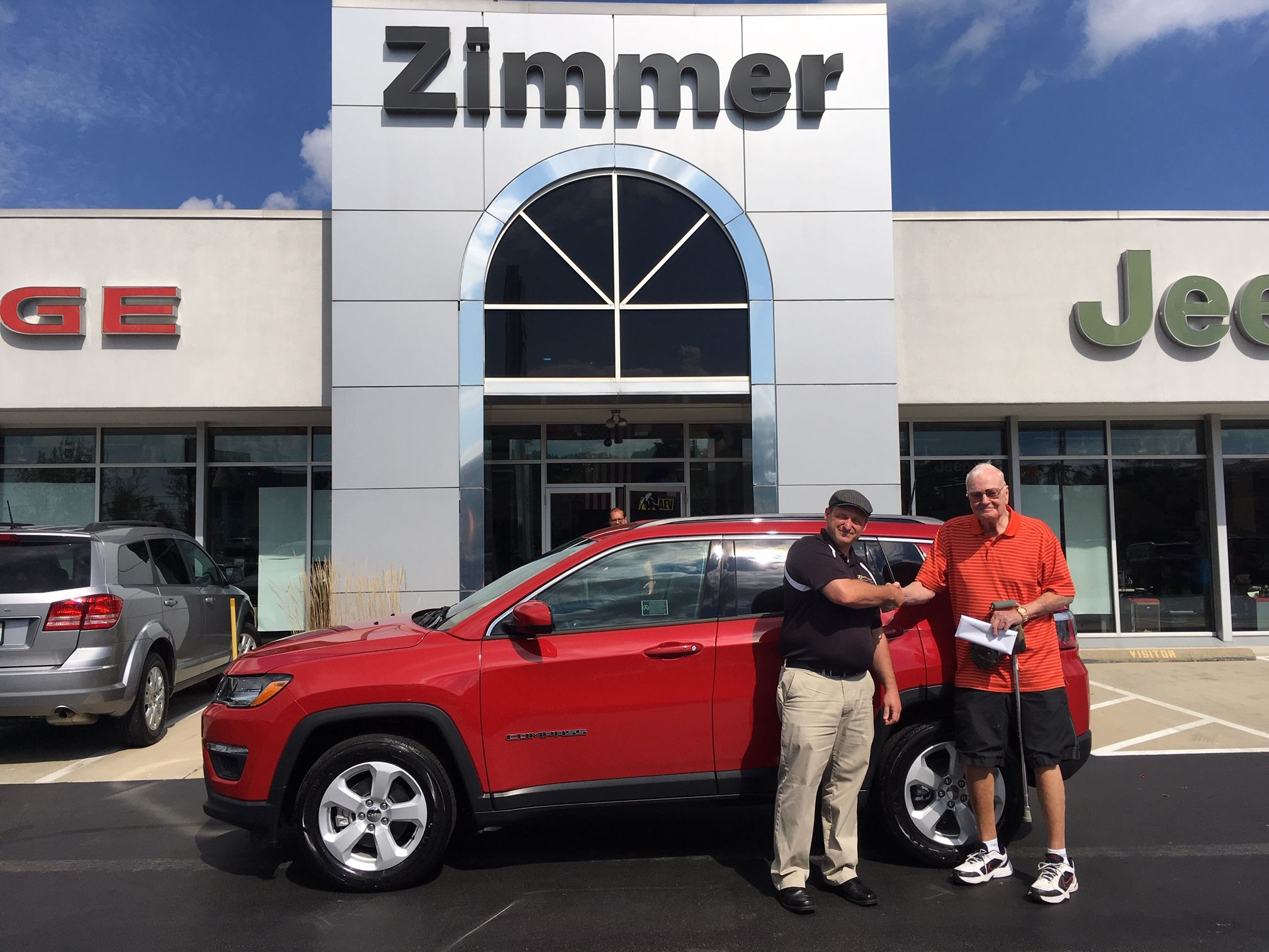 Jesse Nall Has Known Dick Zimmer For Many Years So When It Came Time To Buy A New Jeep Jesse Knew To Come To See Us Mitsubishi Outlander Sport Suv Comparison