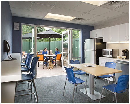 Veterinary Hospital Design Google Search Hospital Design Break Room Staff Lounge