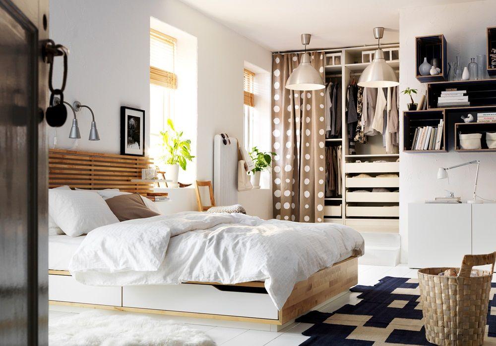 Good Headboard IKEA Mandal Bed   Camere da letto   Pinterest