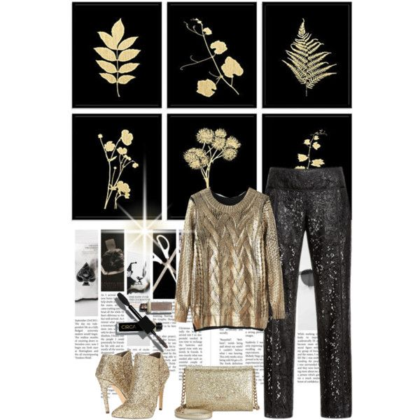New years eve glam by shaneeeee on Polyvore featuring moda, J. Mendel, Michael Antonio and Kate Spade