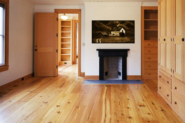 10 Inch Wide Antique Heart Pine Floor Wide Plank Hardwood Floors Rustic Wood Floors Pine Wood Flooring