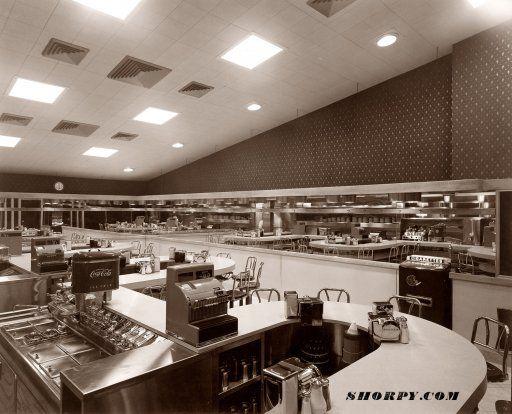 The Waffle Shop, 522 10th Street NW, Washington D.C. Circa 1950 photograph by Theodor Horydczak.