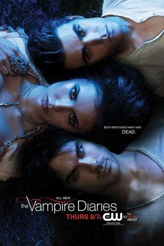Poster Vampire Diaries 2 Temporada Vampire Diaries 2 Temporada