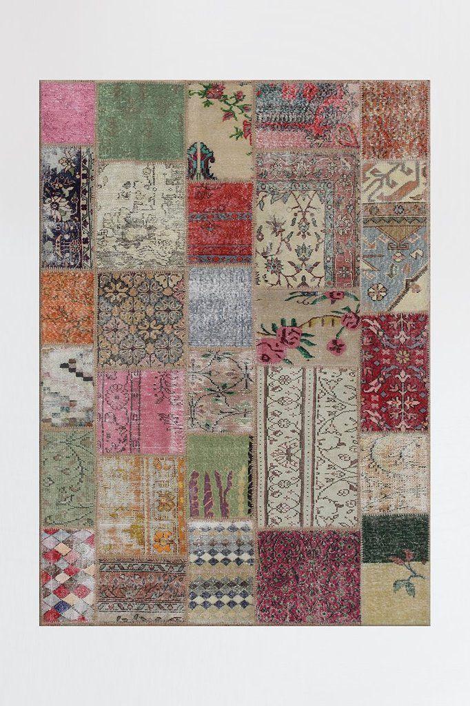 patchwork boho rug with images ruggable boho rug washable rugs on boho chic kitchen rugs id=68366