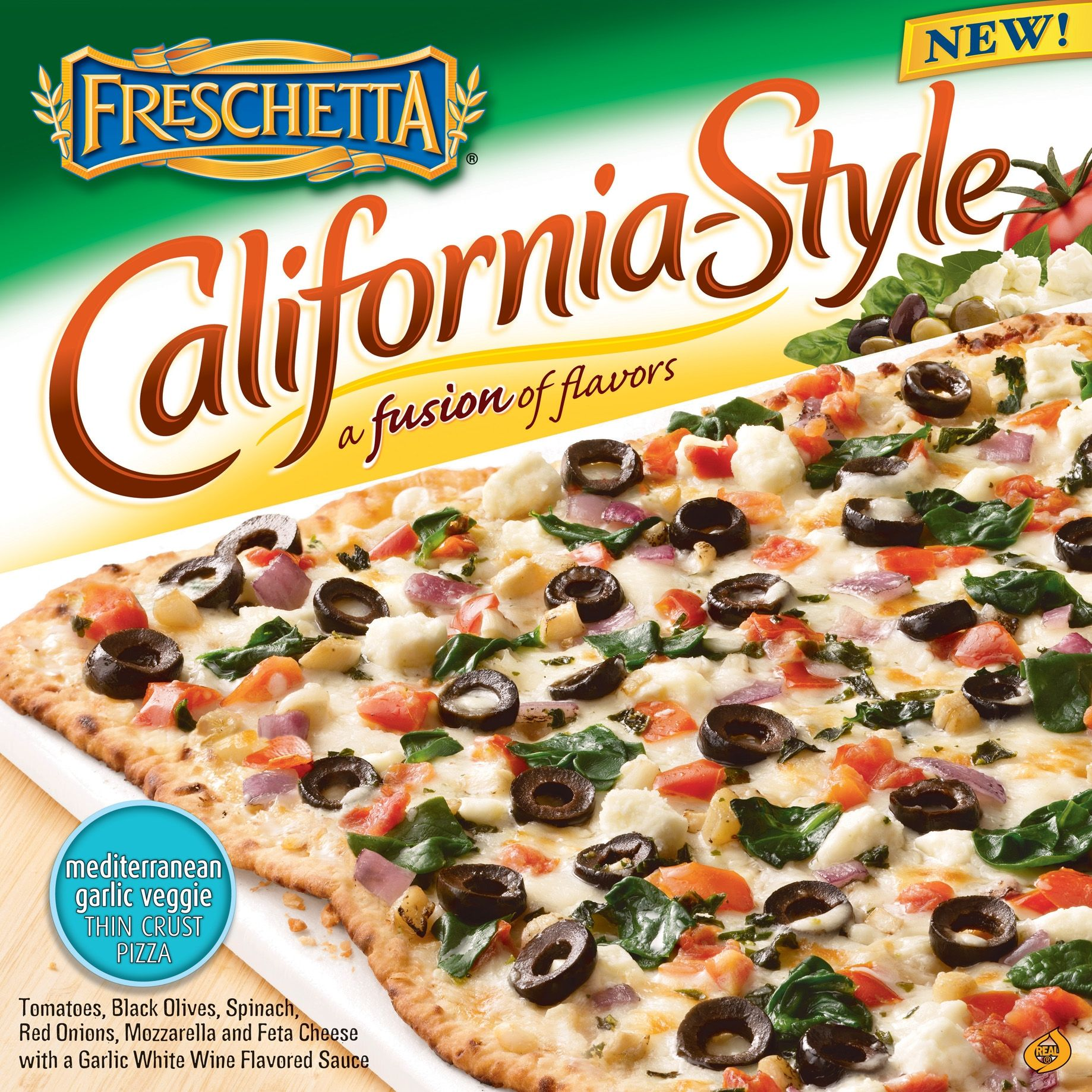 Freschetta california style pizzas giveaway frozen