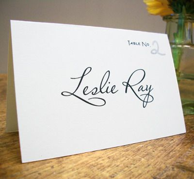 We Are Thrilled To Announce Our New Print At Home Folded Wedding Place Cards These Printable A Cinch Punch Out