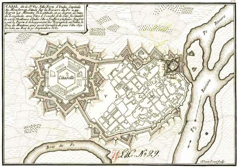 Citadel Map on