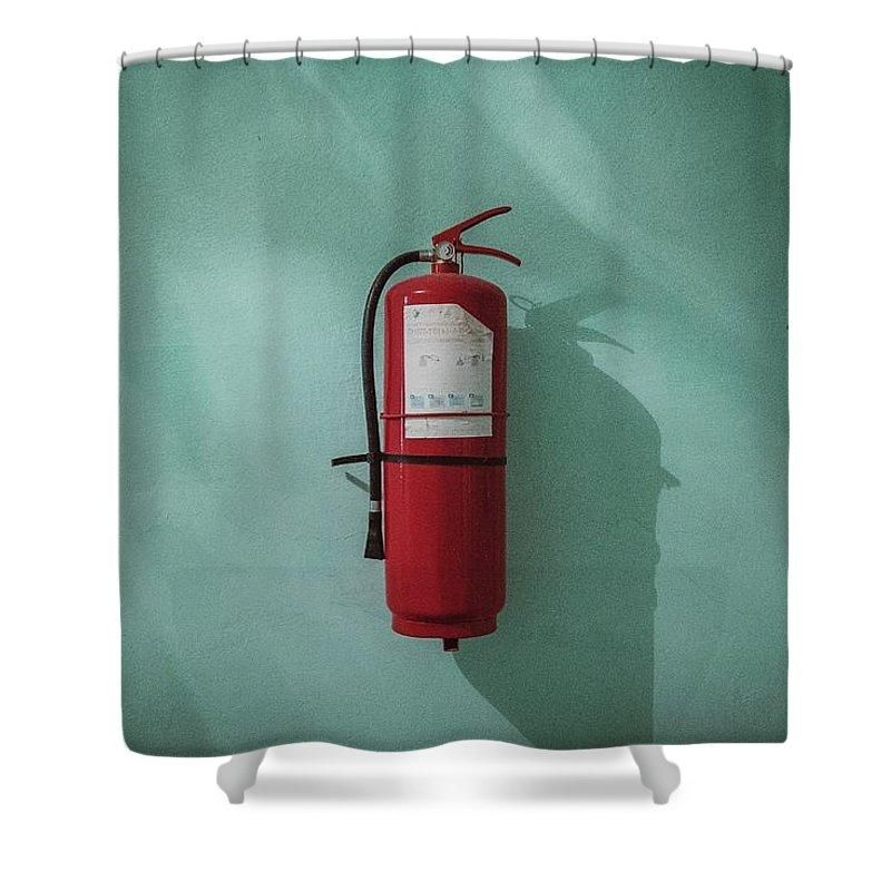 Dark Emergency Extinguisher Fire Fireextinguisher Flame Foam Green Light Old Oldschool Protect Protection Red With Images Water Lighting Curtains With Rings