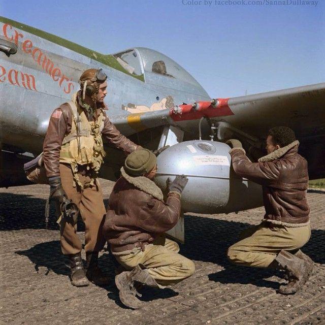 Padgram Wwii Aircraft Tuskegee Airmen Fighter Pilot