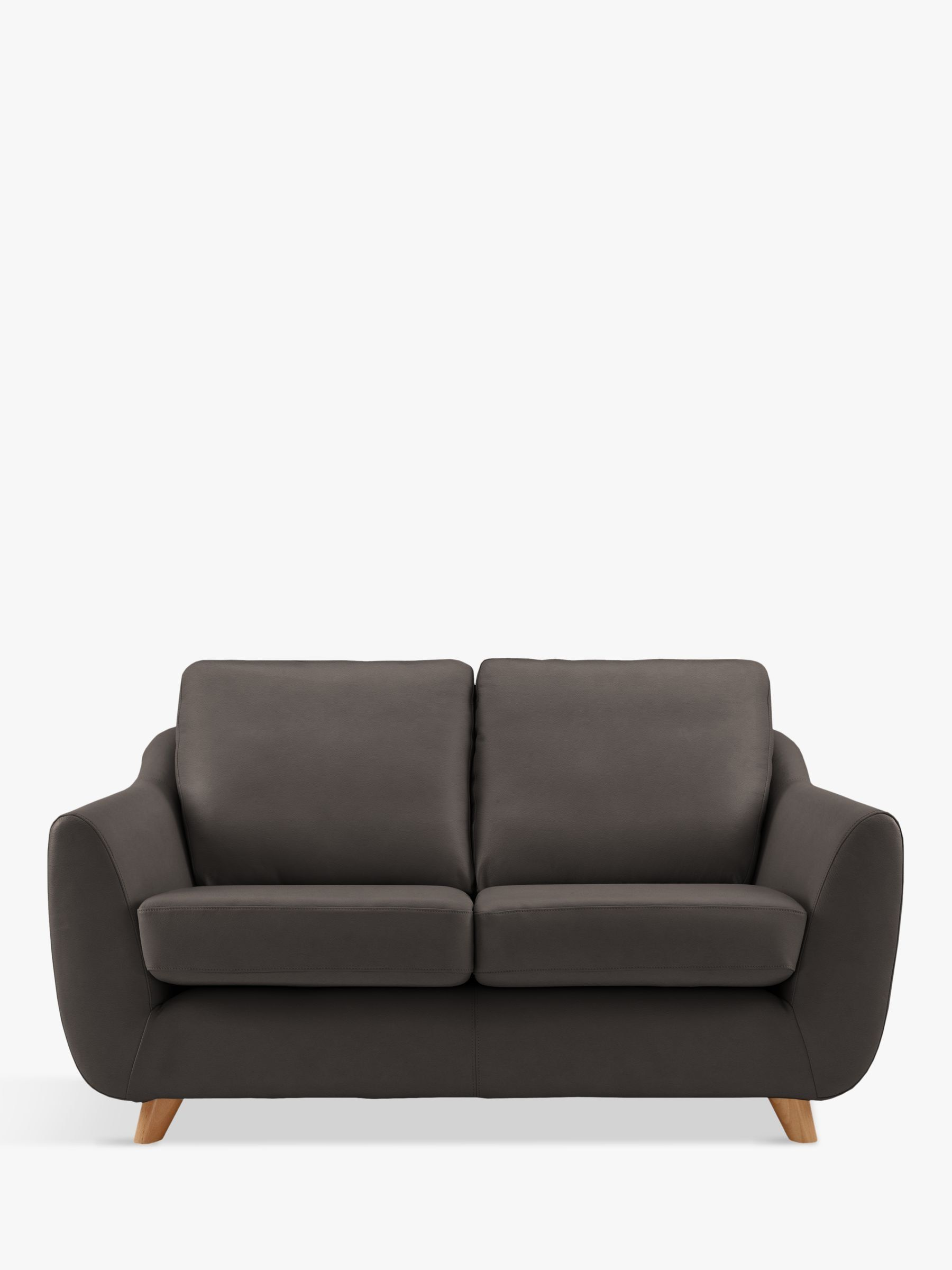 G Plan Vintage The Sixty Seven Small 2 Seater Leather Sofa Leather Sofa Sofas For Small Spaces Sofa