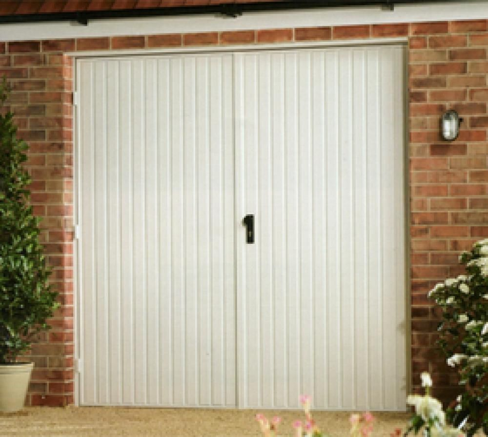 Ordinaire Garador Carlton Steel Side Hinged Garage Doors   Garage Doors Come In Many  Sizes And Shapes. Their Functions Range From Fun