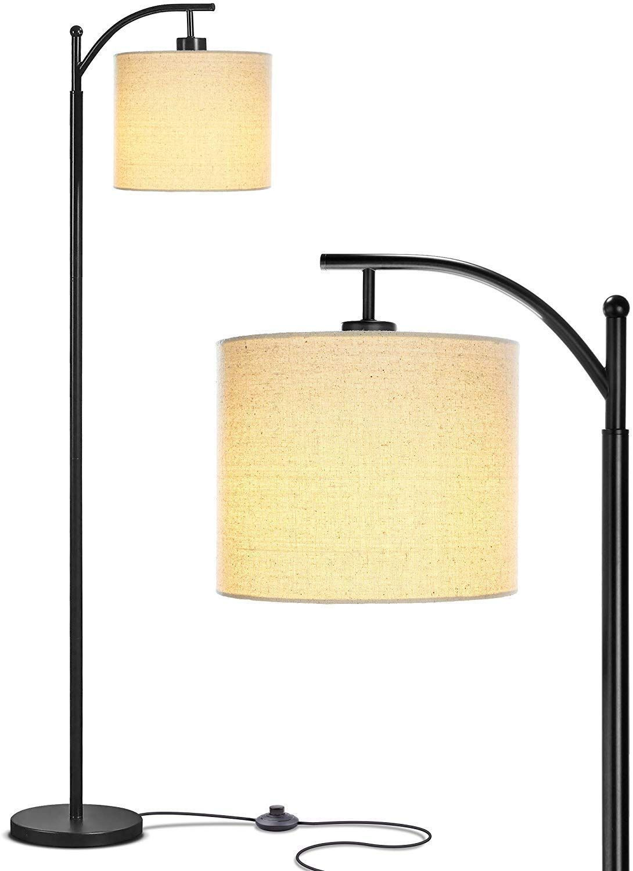 Bedroom Living Room LED Floor Lamp - Standing Industrial ...
