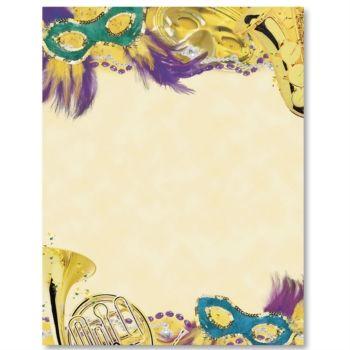 mardi gras border images | mardi gras colors border papers | mardi, Birthday invitations