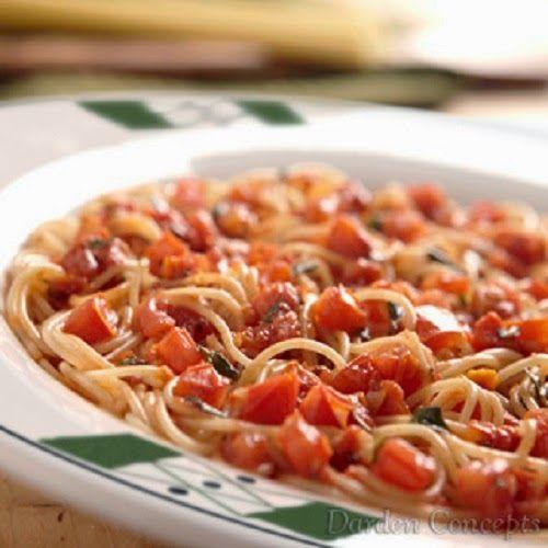 Olive Garden Recipes Olive Garden 39 S Capellini Pomodoro Recipe Pinterest Olive Garden