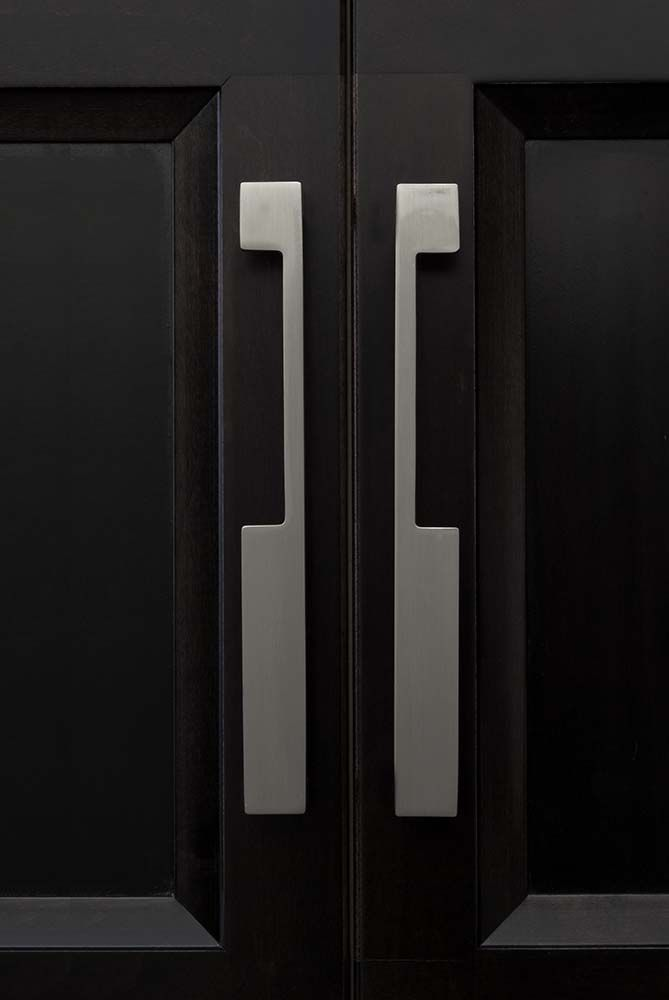 Top S Cabinet Hardware Contemporary Styling With Tk257bsn Modern Metro Notch Pull A 7