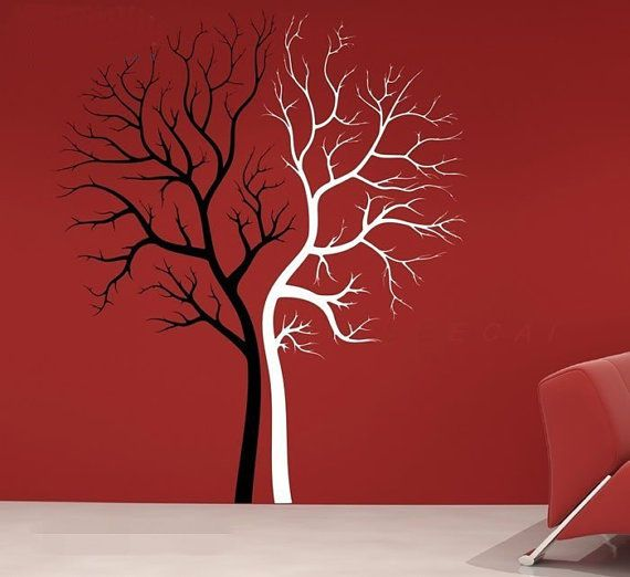 Home Decorating Photo Couple Tree Wall Sticker Tree Wall Stickers Tree Wall Decal Sticker Wall Art