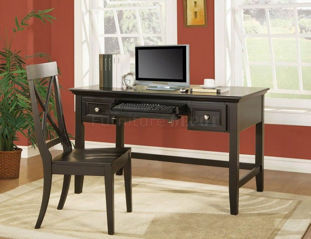Steve Silver Oslo Transitional Writing Desk With Keyboard Tray   Great  American Home Store   Table Desk Memphis, TN, Southaven, MS