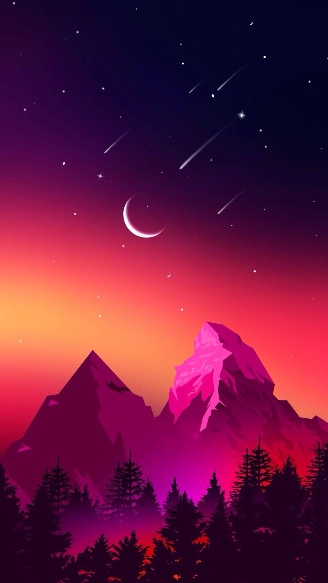 Обои ночь, Пейзаж. Пейзажи foto 12