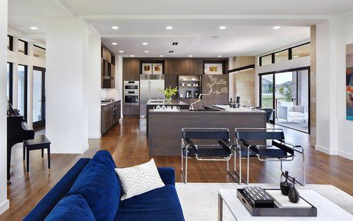 SIOUX FALLS MODERN | Modern style homes, Modern house ...