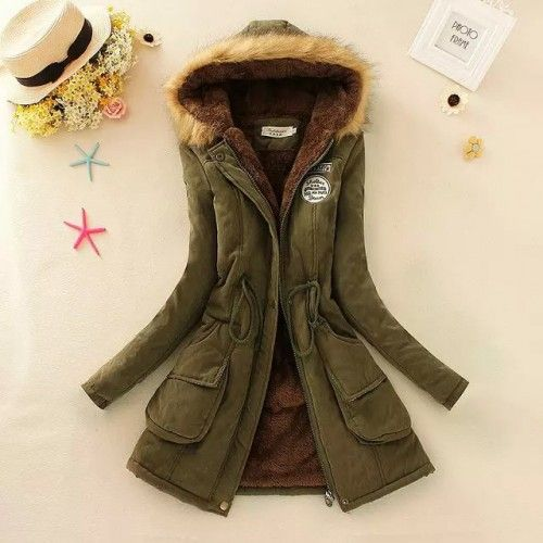 Cazadora Verde California Winter Jackets Women Fashion Winter Coats Women Winter Jackets Women