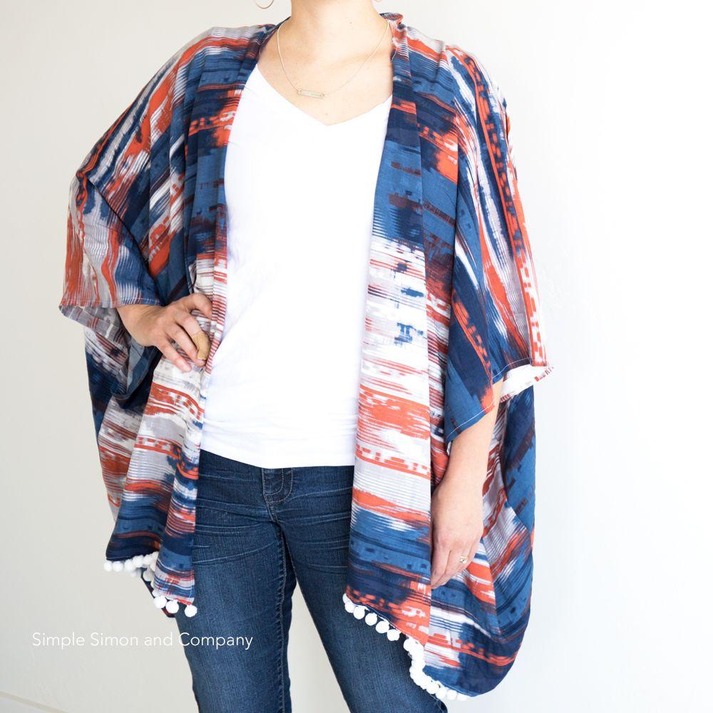 Easy Kimono Cardigan Tutorial | Kimono cardigan, Kimonos and Cardigans