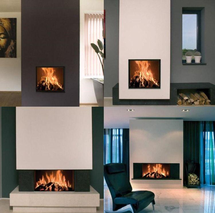 Design Kaminofen Gemauert Für Modernes Wohnen U2013 48 Bilder #kamin #wand  #gemauerterkamin #