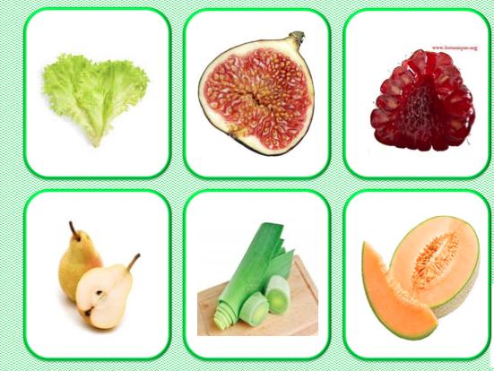 loto et memory fruits et legumes