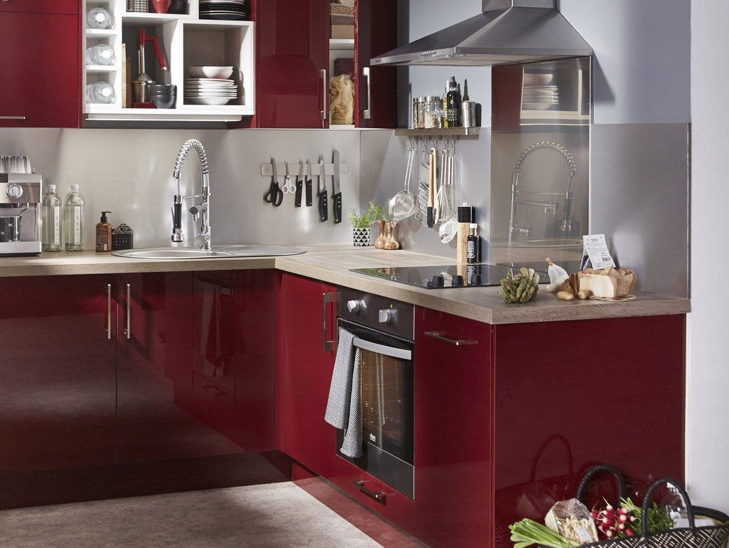 New Idee Deco Pour Cuisine Rouge