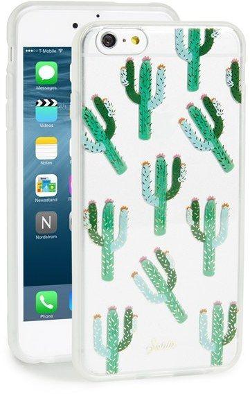 Sonix 'Clear Cactus' iPhone 6 Plus Case
