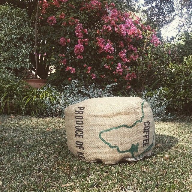 One of our signature designs - map of Africa pouf. #kenya #nairobi #awesomeinsidespace #waspandsprout #creative #inspiration #africa