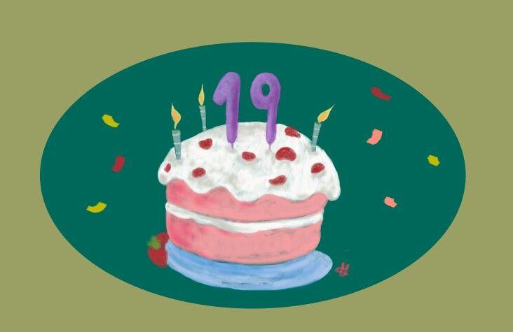 Cake Birthday Photoshop Original Illustrator Illustration Nice Art