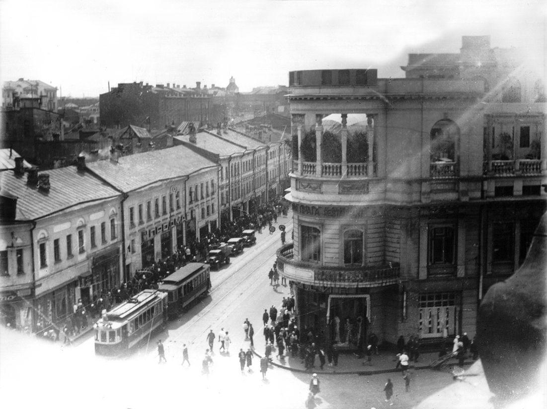 москва старый арбат дореволюционные фото здание миллионной