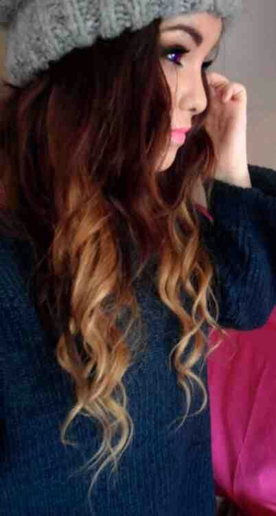 Blonde Ombre.