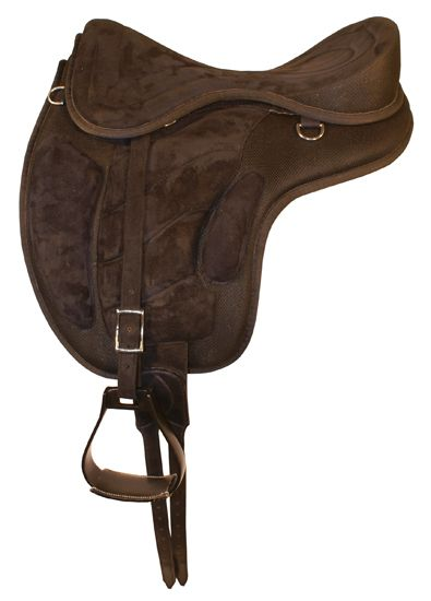 New Freemax Synthetic Treeless with Extra pad Saddle for Horse Tack Free Ship