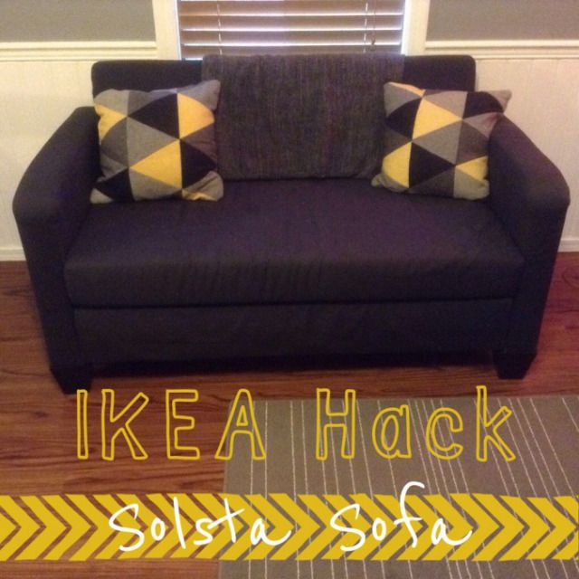 Ikea Hack Solsta Sofa Bed Home Decor Pinterest