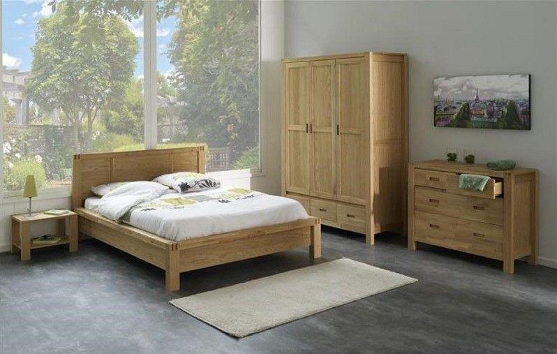 Chambre Chêne Massif CB1001 Terre de Nuit | La Redoute | Room, Home ...
