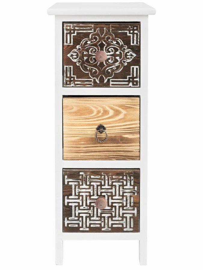Werbung* heine home Kommode - Badmöbel Teils aus massivem Paulownia - badezimmermöbel aus holz