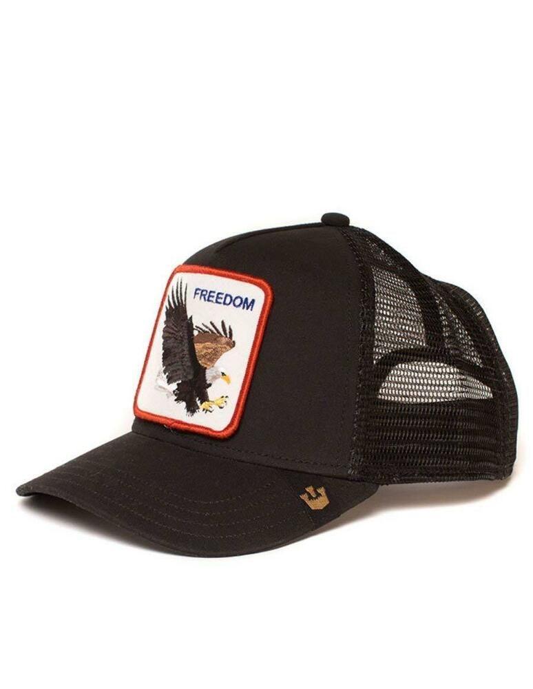 f5e9f7379748d Goorin Bros Trucker Hat Mens Mesh Cap Snapback VTG. Vintage Farm Animal For  Men