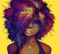 Resultado De Imagem Para Desenho Afro Tumblr Arte Com Cabelo