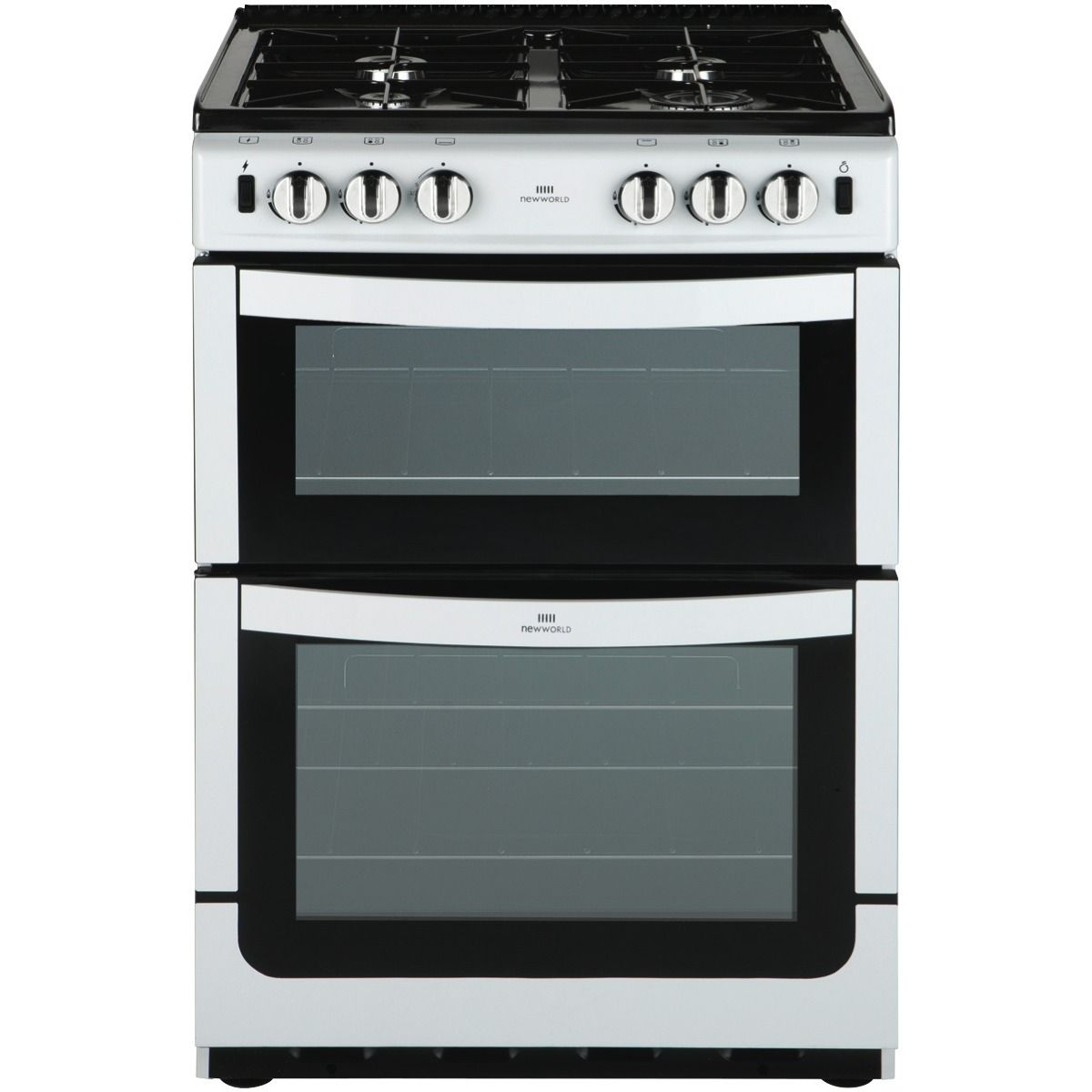 Online For New World Nw601gtcwhilpg 60cm Gas Upright Cooker And More At The